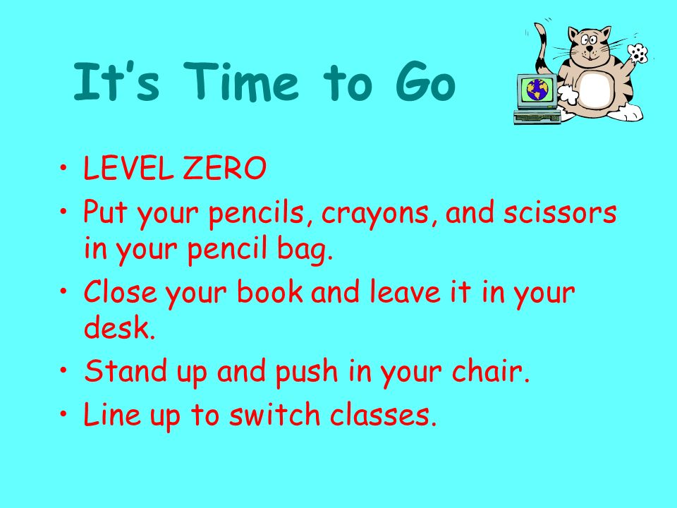 It's Time to Go LEVEL ZERO