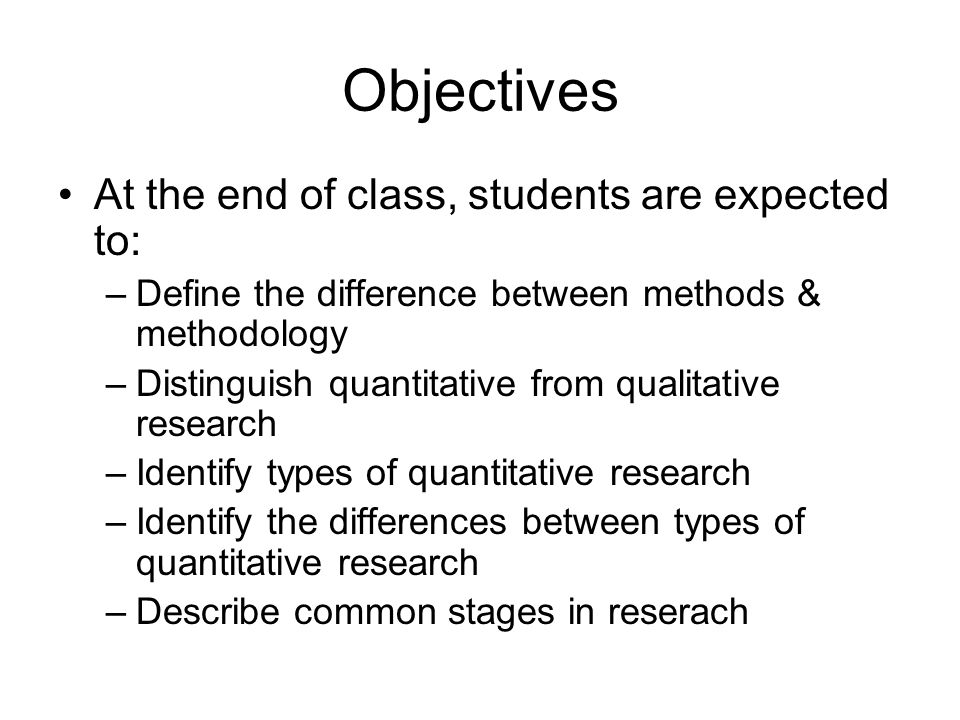 identifying the research method Chapter three: research methodology  identifying their respective strengths  however, it is a method that is fraught with.