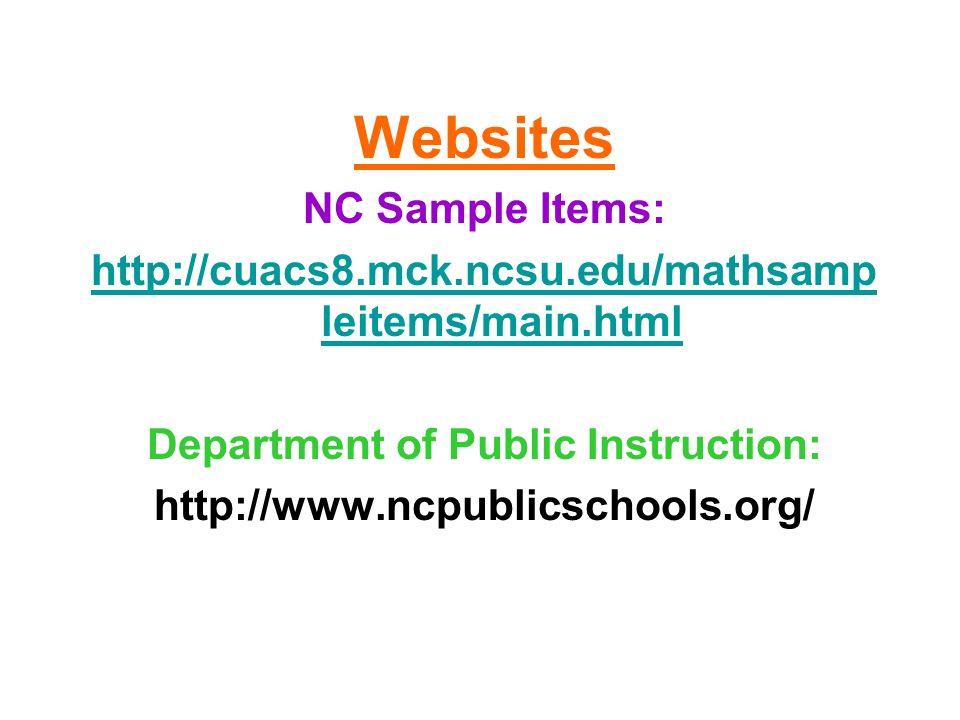 Department of Public Instruction: