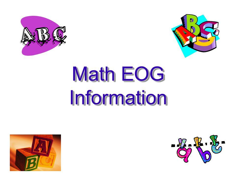 Math EOG Information
