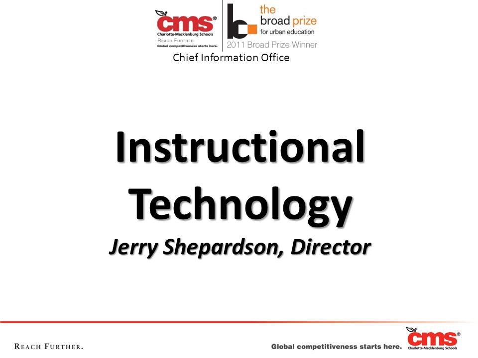 Instructional Technology Jerry Shepardson, Director