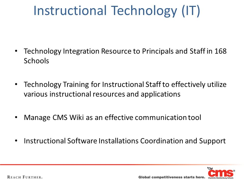 Instructional Technology (IT)