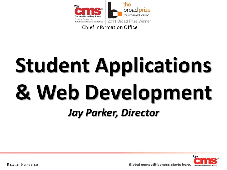 Student Applications & Web Development