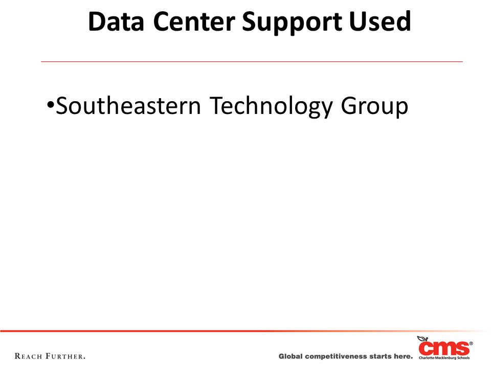 Data Center Support Used