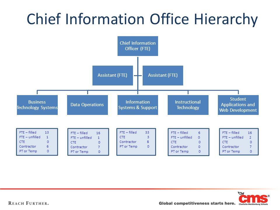 Chief Information Office Hierarchy