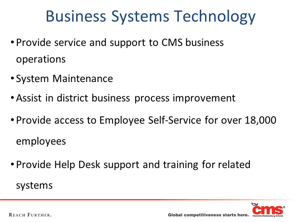Business Systems Technology