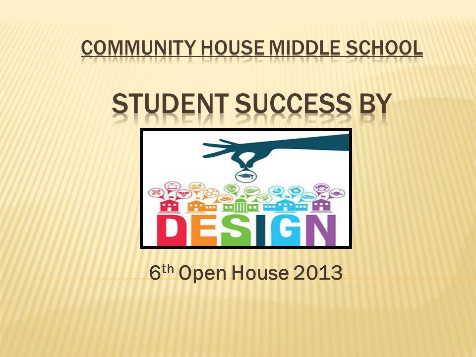 COMMUNITY HOUSE MIDDLE SCHOOL Student Success By