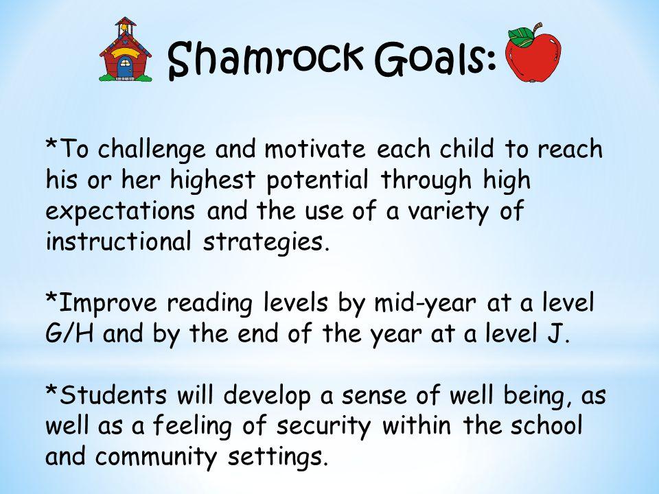 Shamrock Goals: