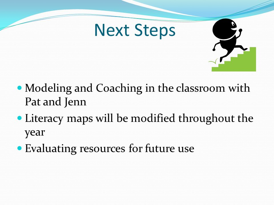 Next Steps Modeling and Coaching in the classroom with Pat and Jenn