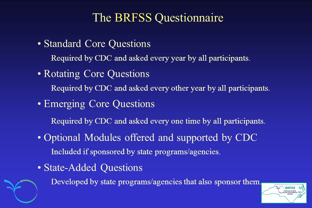 The BRFSS Questionnaire