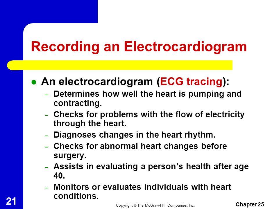 Recording an Electrocardiogram
