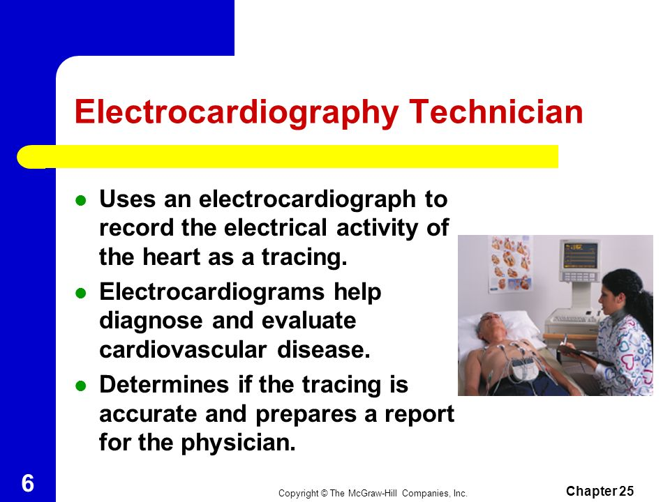 Electrocardiography Technician
