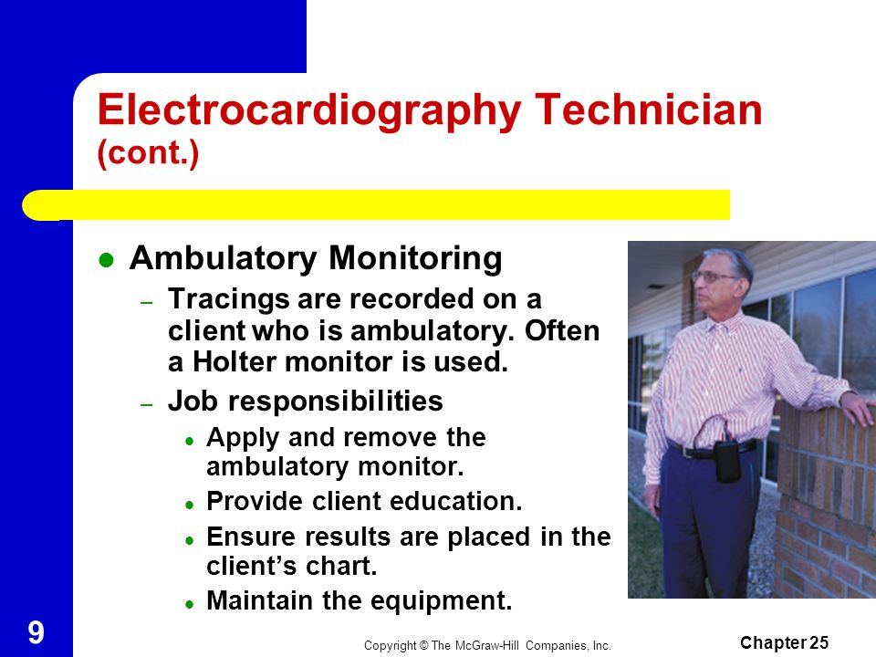 Electrocardiography Technician (cont.)