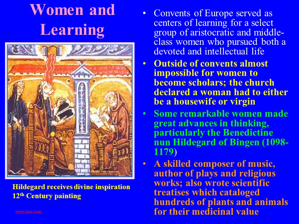 Women and Learning