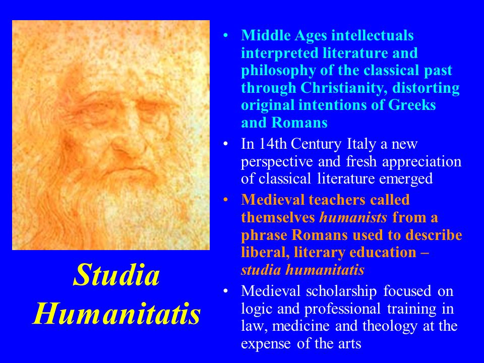 Middle Ages intellectuals interpreted literature and philosophy of the classical past through Christianity, distorting original intentions of Greeks and Romans