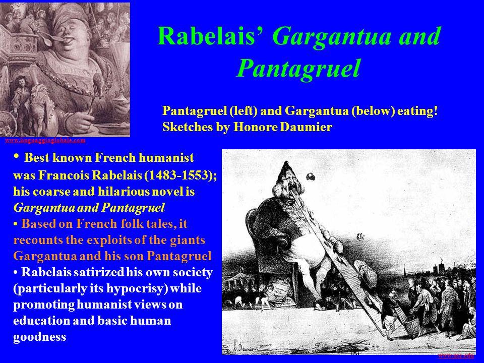 Rabelais' Gargantua and Pantagruel