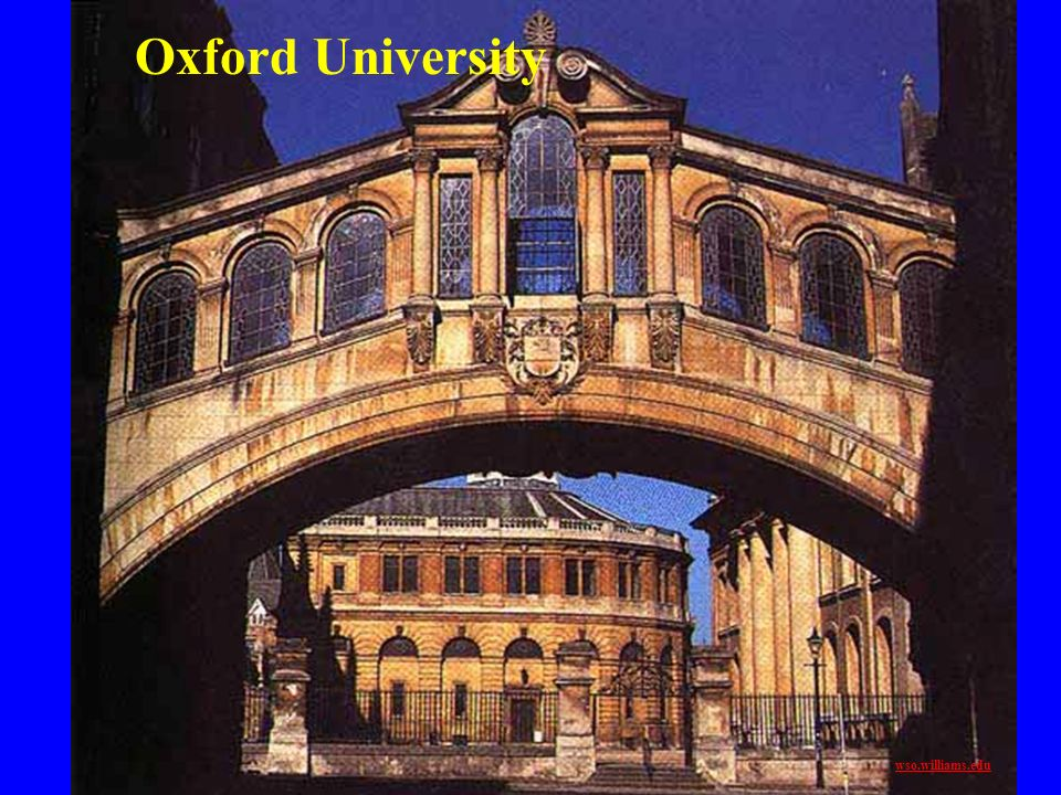 Oxford University wso.williams.edu