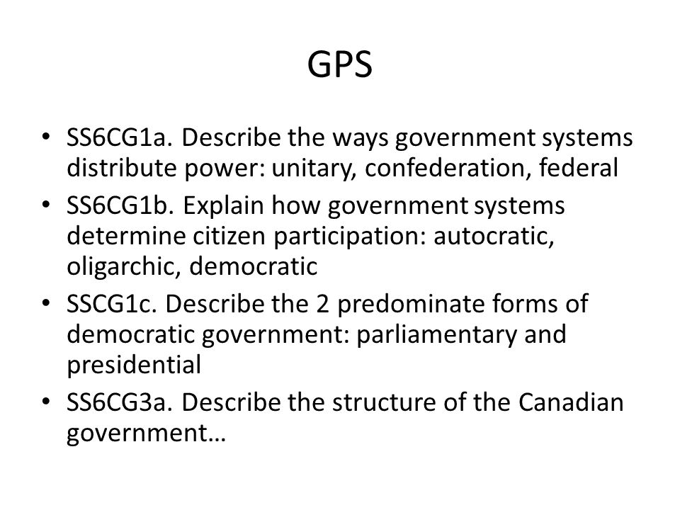 the structure of the canadian government essay Democracy is often thought of as the best and the most appropriate form of government for the modern, complex societies (mintz, tossutti.