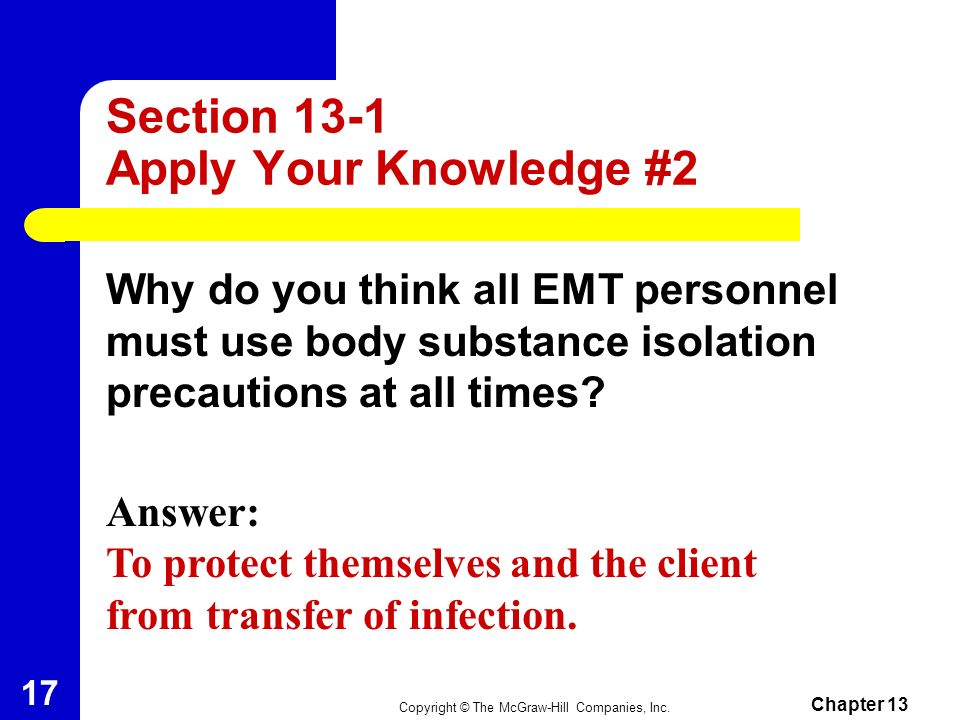 Section 13-1 Apply Your Knowledge #2