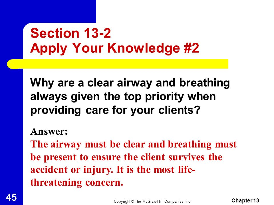 Section 13-2 Apply Your Knowledge #2