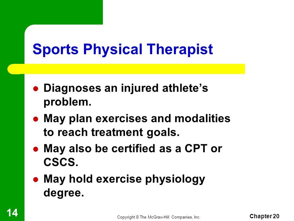 Sports Physical Therapist
