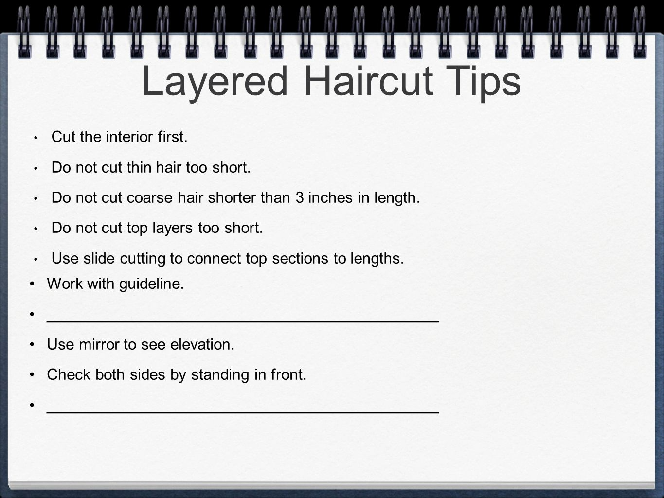 haircutting ch ppt video online download