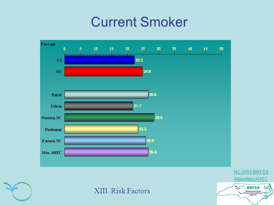 Current Smoker XIII. Risk Factors