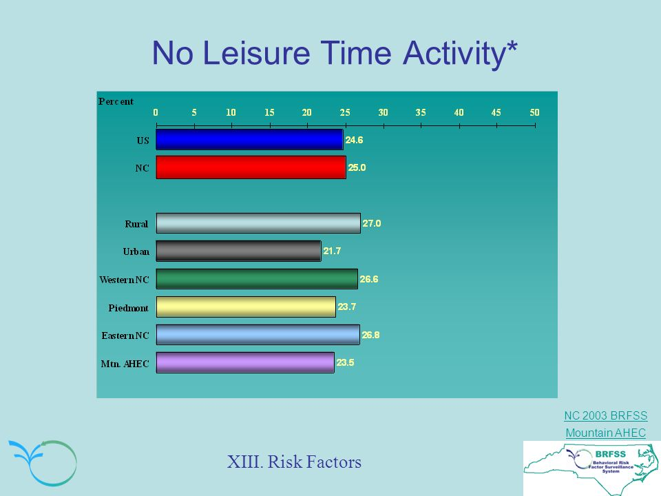 No Leisure Time Activity*