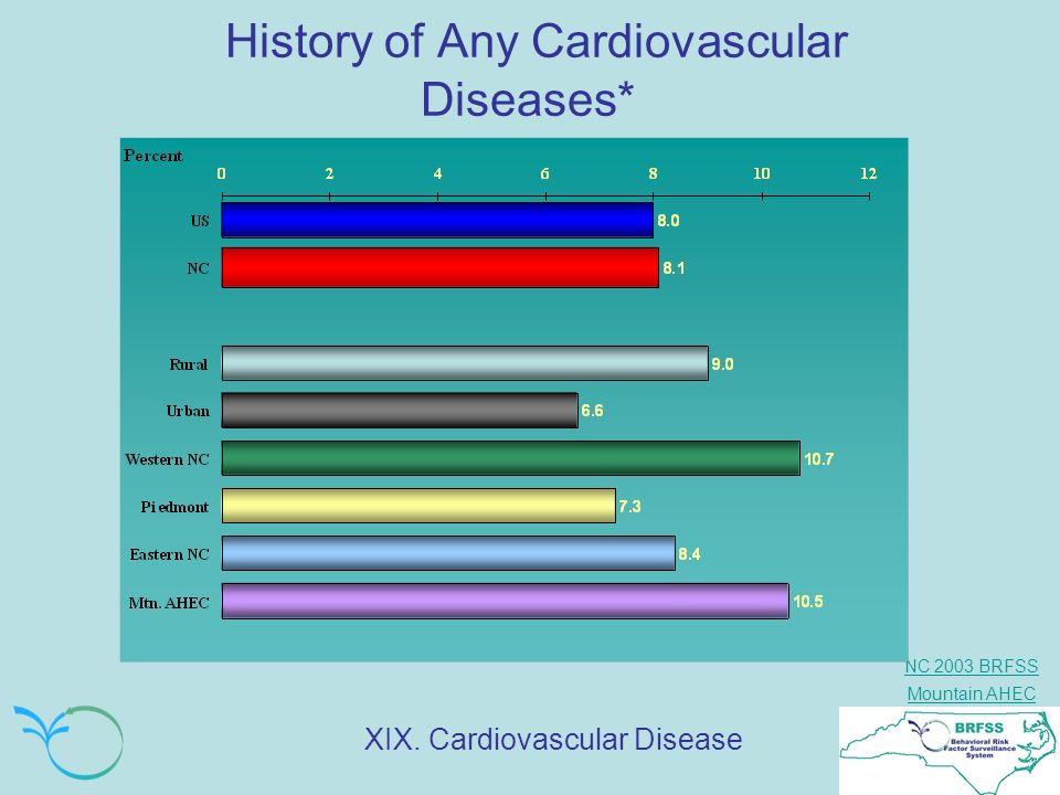 History of Any Cardiovascular Diseases*