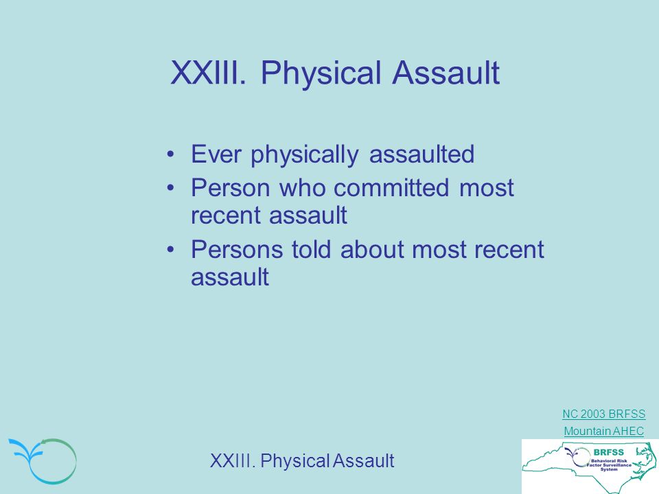 XXIII. Physical Assault