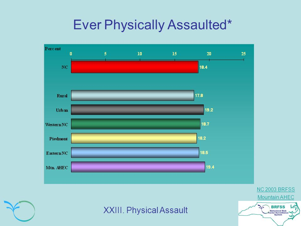 Ever Physically Assaulted*