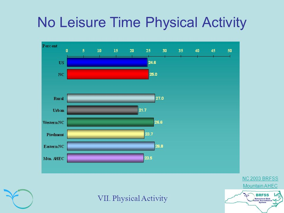 No Leisure Time Physical Activity