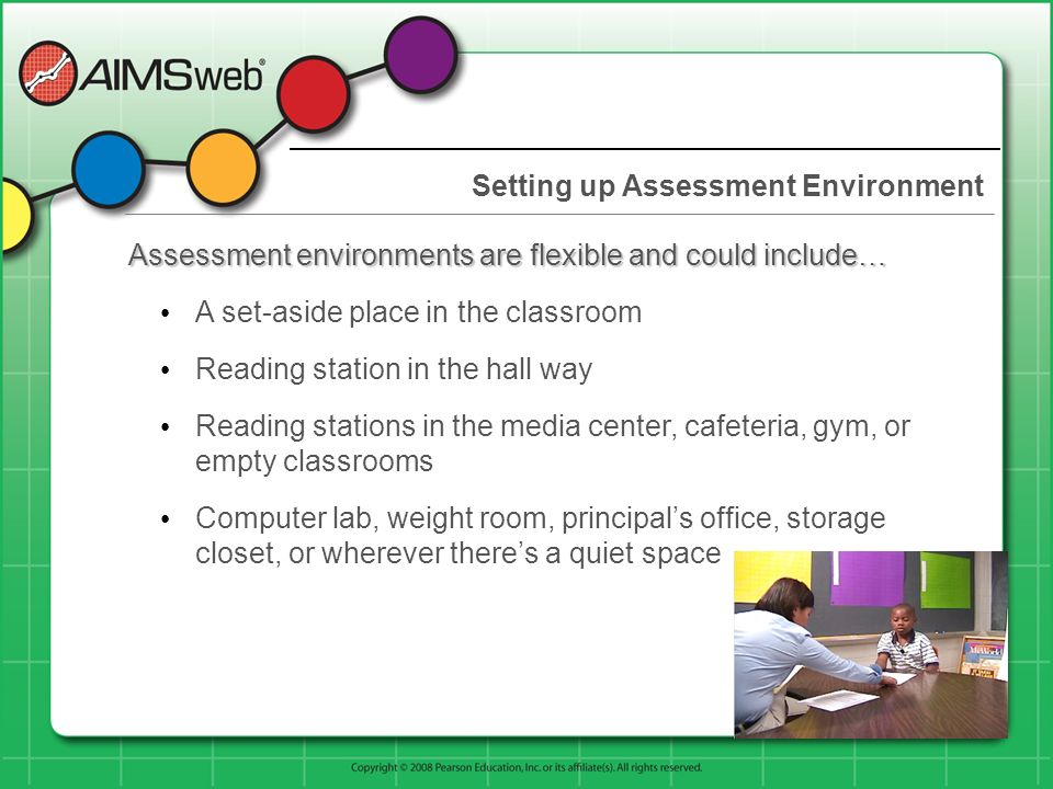 Setting up Assessment Environment