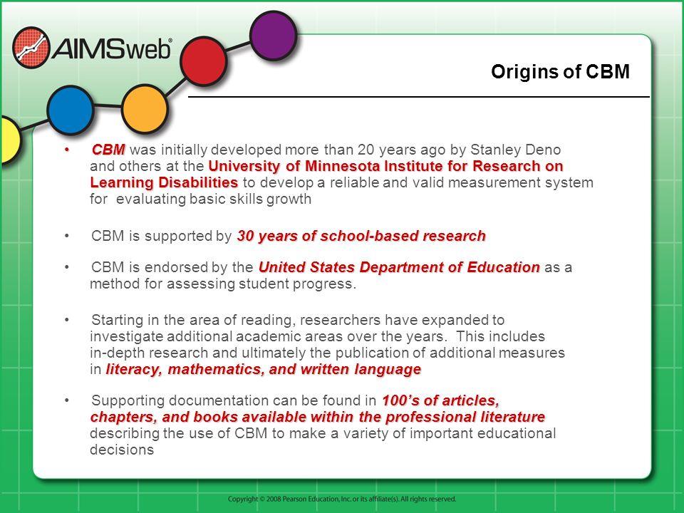 Origins of CBM