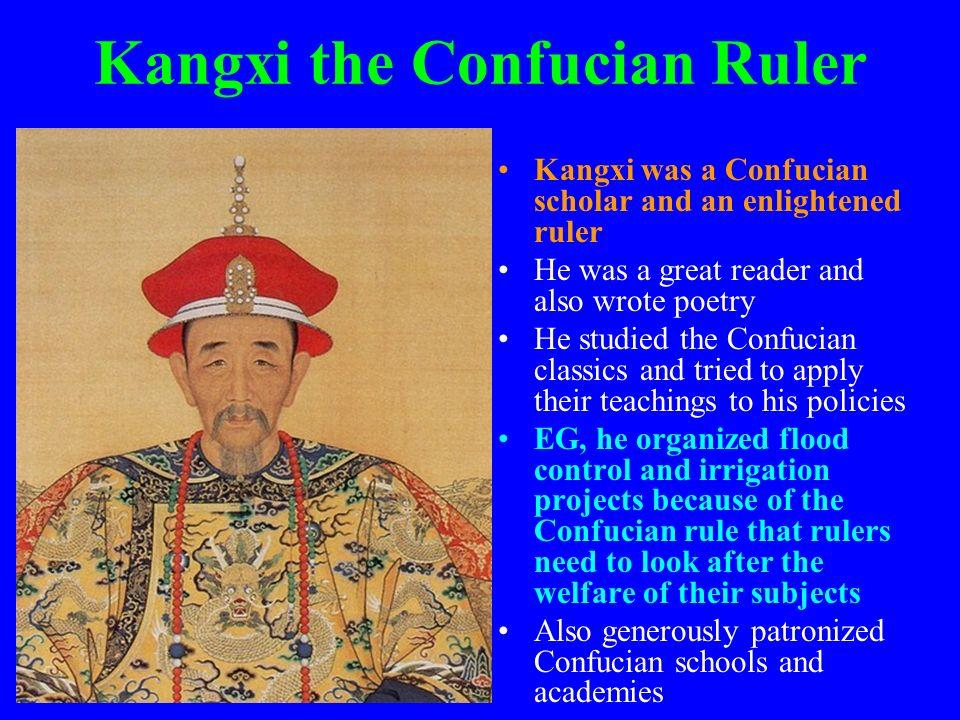 Kangxi the Confucian Ruler