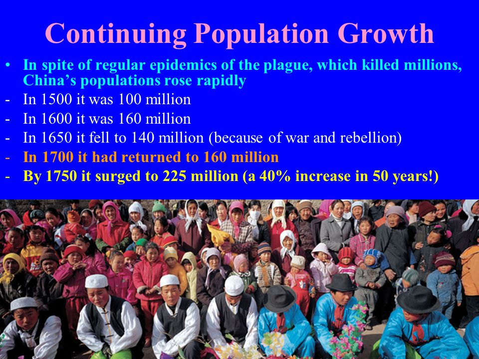 Continuing Population Growth