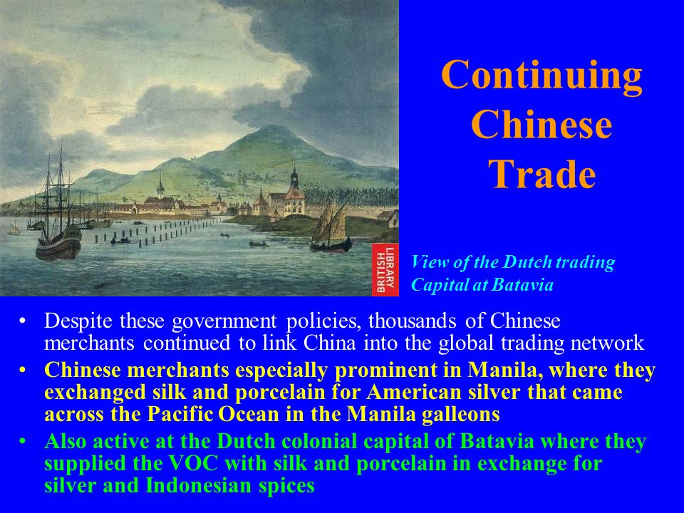 Continuing Chinese Trade