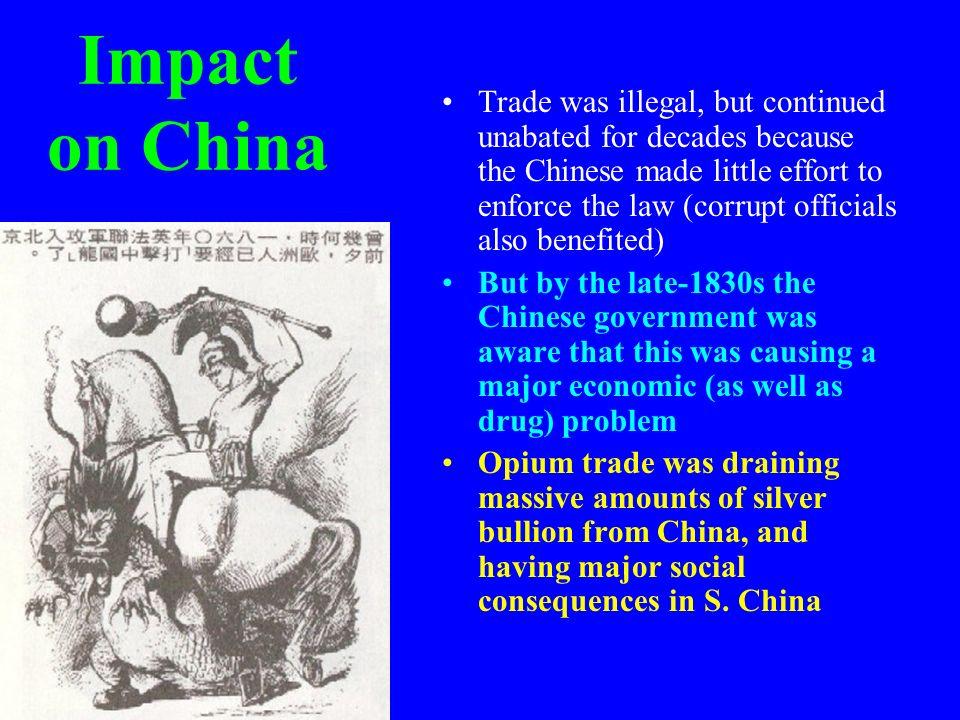 Impact on China