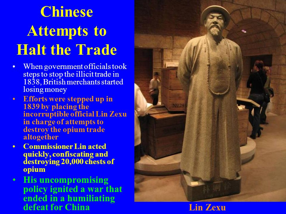 Chinese Attempts to Halt the Trade