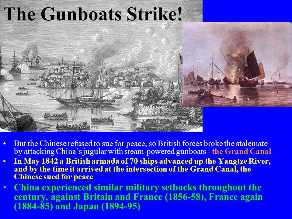 The Gunboats Strike!