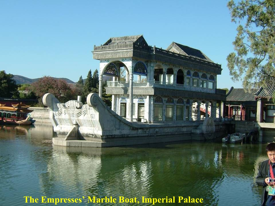 The Empresses' Marble Boat, Imperial Palace