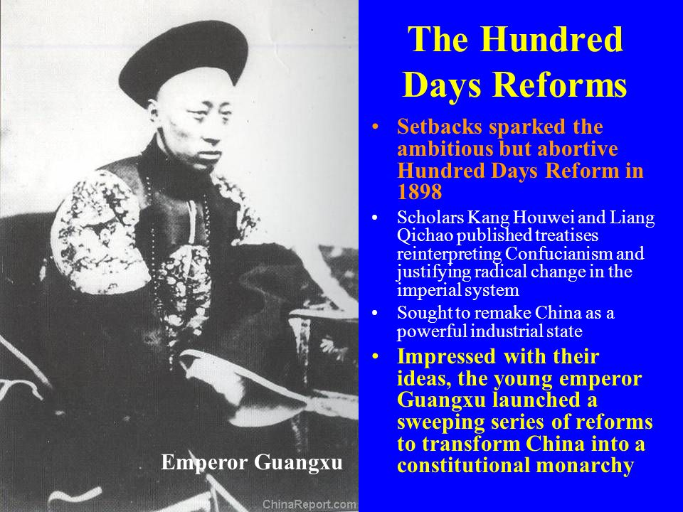The Hundred Days Reforms