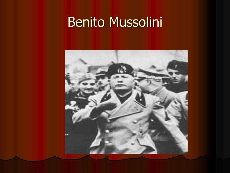 Benito Mussolini 3