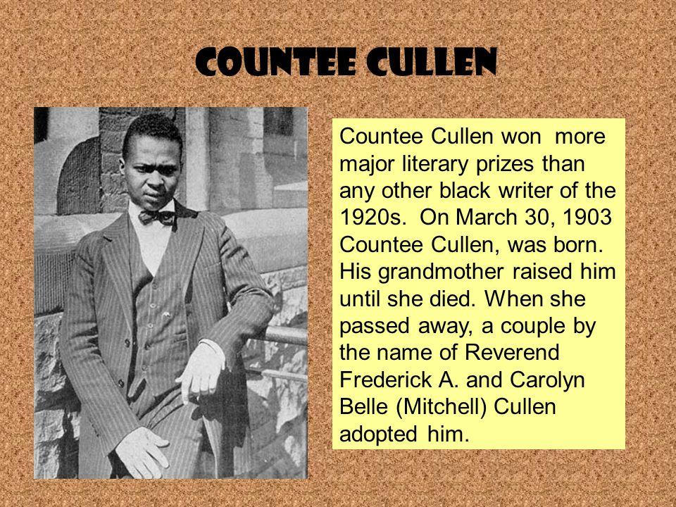 a biography of countee cullen a novelist Countee cullen, in full countee porter cullen biography of countee cullen english novelist.