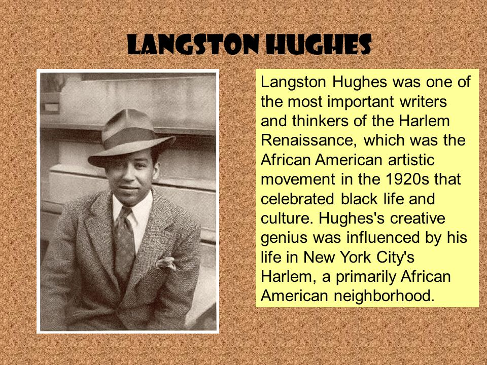Why is Langston Hughes famous  The QampA wiki