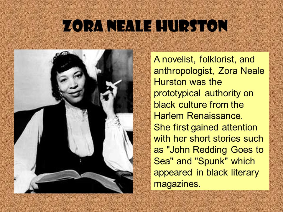 analysis of zora neale hurston s spunk Use this printable worksheet and interactive quiz combination to measure your knowledge of zora neale hurston's ''spunk'' this feature is.