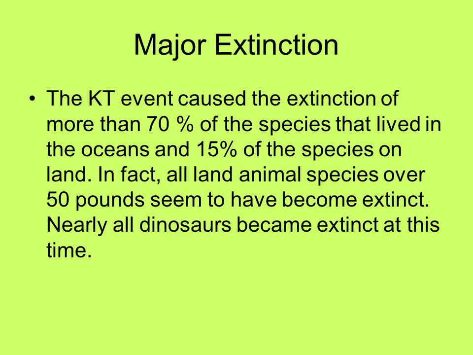 Major Extinction