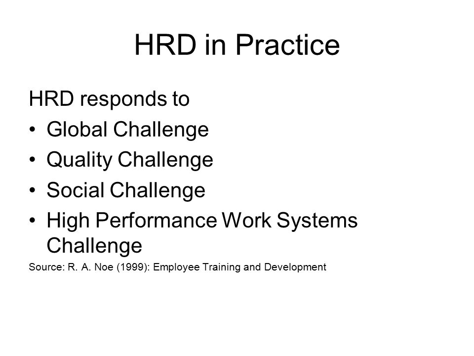 """hrd definitions Hrd defined: definitions of hrd (reproduced from the forthcoming book """"future of hrd""""by t v rao, macmillan india) a significant source of information on hrd in the us as well as worldwide is available from the academy of human resources development, usa."""