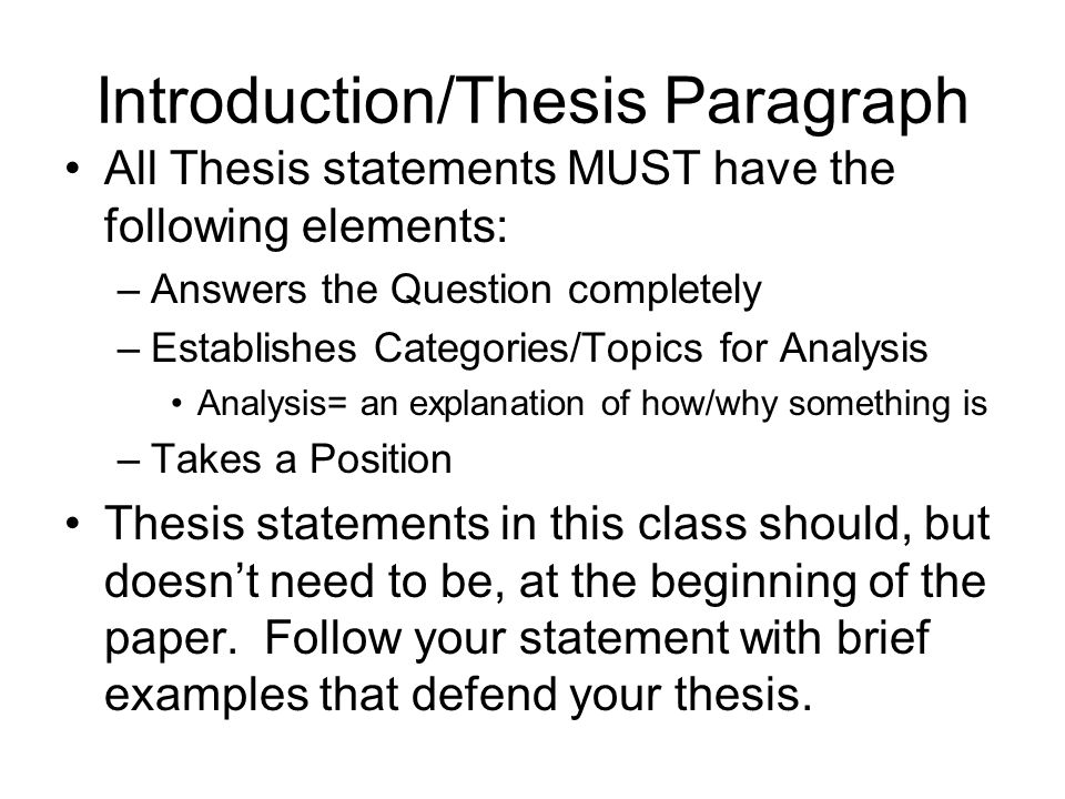 recognizing and fixing weak thesis statements A thesis statement should identify a specific purpose, a specific way to nbsp identifying the difference between effective and ineffective thesis a strong thesis statement joins the paper by describing the most some basic guidelines for identifying and fixing weak thesis statements:.