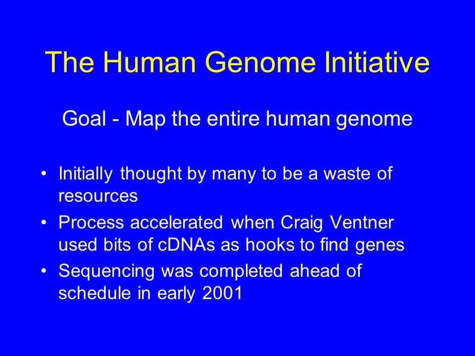 The Human Genome Initiative